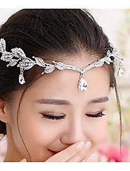 economico -copricapo di diademi in lega di strass elegante stile femminile classico