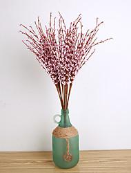 corona di fiori in stile rustico fiore decorativo artificiale fiore 5 ramo