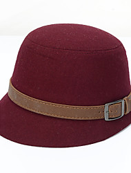 cheap -Women's Hat Bucket Hat - Patchwork Retro