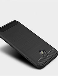 preiswerte -Hülle Für Samsung Galaxy J7 (2017) J3 (2017) Mattiert Rückseite Volltonfarbe Weich TPU für J7 (2017) J5 (2017) J3 (2017)