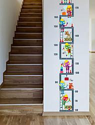 Animali Floreale/Botanical Moda Adesivi murali Adesivi aereo da parete Adesivi decorativi da parete Adesivi misura altezza Materiale
