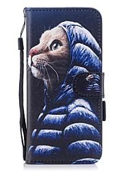 abordables -Funda Para Samsung Galaxy S8 Plus / S8 Cartera / Soporte de Coche / con Soporte Funda de Cuerpo Entero Gato Dura Cuero de PU para S8 Plus / S8
