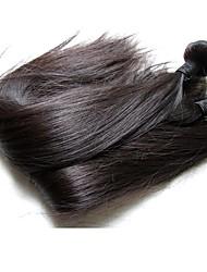 novos pacotes de cabelo liso brasileiro de qualidade superior de cabelo 500g 5pieces à venda material de cabelo humano da mulher virgem