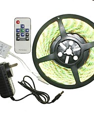 5m 300x5050led strip light sets impermeável rgb 10 chave controlador ac100-240v au / eu / us / uk power plug dc12v 2a
