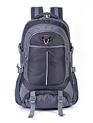 Недорогие -35L Рюкзаки - Пригодно для носки, Воздухопроницаемость Отдых и Туризм, Пешеходный туризм Черный, Небесно-голубой, Синий