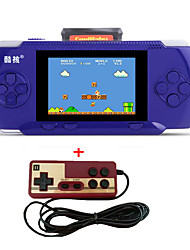 cheap -Portable RS-2A Handheld Game Players 3.2 Video Game Console For kids 300 Classical Game Support AV Port free cartridge 2nd Player Controller