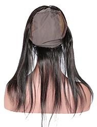 360 dentelle frontale avec perruque cap directement cheveux brésiliens 100% cheveux humains remy 10-20