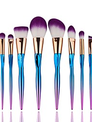 cheap -8pcs Makeup Brushes Professional Makeup Brush Set / Blush Brush / Eyeshadow Brush Synthetic Hair Full Coverage / Synthetic Resin