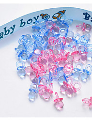 New Baby Baby Shower Plastic Wedding Decorations Elegant Style