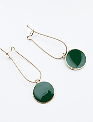 Women's Drop Earrings Fashion Alloy Round Jewelry For Daily Casual