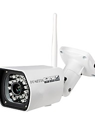 HOMEDIA® 2.0MP 1080p IP Camera 6mm 1/2.7'' CMOS Wifi P2P 24Leds IR Night Vision Mobile View Outdoor Waterproof