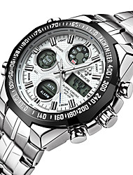 cheap -Men's Digital Watch Japanese Alarm / Calendar / date / day / Water Resistant / Water Proof Stainless Steel Band Charm / Luxury / Vintage