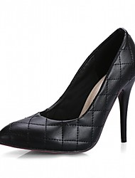 abordables -Femme Chaussures Polyuréthane / Similicuir Printemps / Automne Nouveauté / Confort Chaussures à Talons Talon Aiguille Bout pointu Points