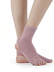 cheap -Womens Soft Dance Ballet Transition Tight  Cloth Socks with foot massage point
