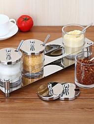 1 Cozinha Vidro Vasilhas de cozinha
