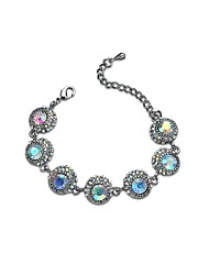 Per donna Bracciali a catena e maglie Diamante sintetico Chrismas Classico Strass Circolare Di forma geometrica Gioielli Per Fidanzamento