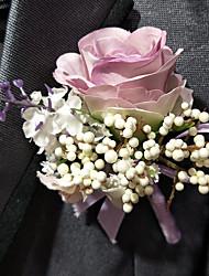 economico -Bouquet sposa Fiore all'occhiello Matrimonio 10 cm ca.