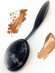 escova de dentes silisponge blusher escova misturador de silicone maquiagem escova cosmética sopa para creme de rosto creme em pó