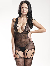 Women's Ultra Sexy Teddy NightwearSexy Solid-Medium Spandex