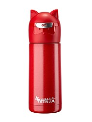 Outdoor Wear to work To-Go Drinkware, 350 Silica Gel Stainless Steel Tea Coffee Water Bottle