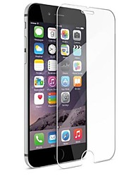 abordables -Vidrio Templado Protector de pantalla para Apple iPhone 6s Plus iPhone 6 Plus Protector de Pantalla Frontal Alta definición (HD) Dureza