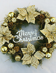 cheap -Garlands Christmas / Holiday / Cartoon Round Christmas / Party Christmas Decoration