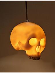 abordables -creativa personalidad esqueleto halloween máscara tema restaurante posada barra superior droplight café pasillo decoración ingeniería