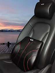 Automotive Headrest & Waist Cushion Kits For Infiniti All years All Models Car Waist Cushions Leather
