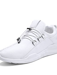 Men's Shoes Knit Spring Fall Comfort Sneakers For Casual Black White