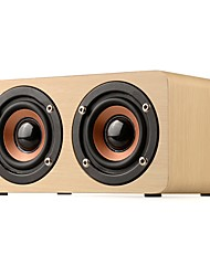 cheap -W5 Mini Style Bluetooth 3.5mm AUX Bookshelf Speaker Beige Brown
