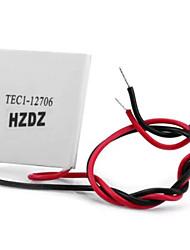 tec1 - 12706 12v 50 - 72w semiconductor calentador termoeléctrico peltier para diy