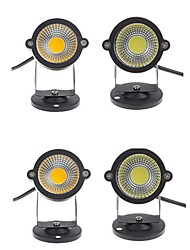 cheap -4pcs 3W Lawn Lights Waterproof Decorative Warm White Cold White 12V 85-265V Garden Courtyard Outdoor Lighting
