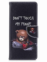 cheap -Case for Samsung Galaxy Note 8 Word Card Holder PU Wallet Leather Card Bag with Pattern