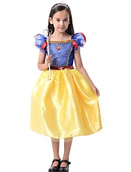 Princess Outfits Kid Halloween Christmas Festival/Holiday Halloween Costumes Patchwork