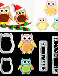cheap -Owl Cake Mould, Sugar - Turning Tool