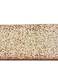 Donna Sacchetti Per tutte le stagioni Materiale speciale Pochette Con strass per Serata/evento Champagne Oro Bianco Nero Argento