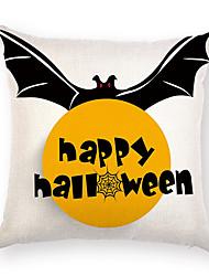 billige -Stk. Bomuld Pudebetræk, Mønster Halloween