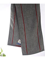 Недорогие -Свежий стиль Спортивное полотенце,В полоску Высшее качество Чистый хлопок Полотенце