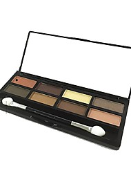 cheap -8 Eyeshadow Palette Matte Shimmer Eyeshadow palette Powder Daily Makeup