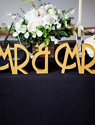 деревянный стол центр штук-персонализированные характер часть / комплект свадебный прием