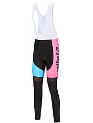 economico -Miloto Per donna Salopette da ciclismo Bicicletta Calzamaglia / Salopette / Corsari Bianco / Nero Abbigliamento ciclismo