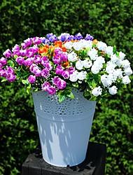 economico -25cm 4 pc 6 fiorisce il fiore artificiale della decorazione domestica variopinti / pc