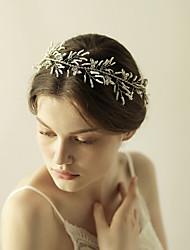 cheap -Resin Rhinestone Flowers Head Chain 1 Wedding Special Occasion Headpiece