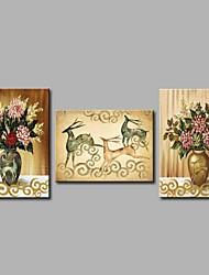 elk 3 peças obras de arte moderna arte de parede para decoração de sala 20x28inchx3