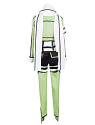 cheap -Inspired by Sword Art Online  Gun GaleCosplay Anime Cosplay Costumes Cosplay Suits Patchwork White Black Green Long SleeveCoat Leotard Shorts