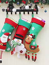 cheap -Stockings Ornaments Houses Landscape Other Home Decoration ChristmasForHoliday Decorations
