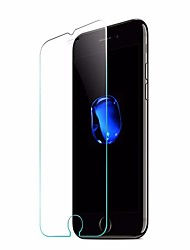 Protector de pantalla para iPhone 7 Vidrio Templado 1 pieza Protector de Pantalla Frontal Alta definición (HD) Borde Curvado 2.5D Ultra