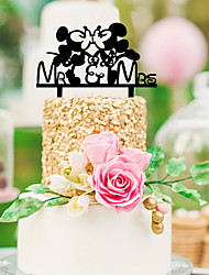 cheap -Material Hard Plastic Table Center Pieces - Personalized Others Tables Character Acrylic 1 All Seasons