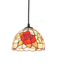 cheap -Diameter 20cm Tiffany Pendant Lights Glass Lamp Shade Living Room Bedroom Dining Room light Fixture