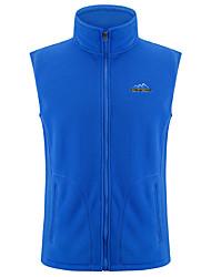 cheap -Men's Women's Hiking Vest Outdoor Winter Keep Warm Vest/Gilet Full Length Visible Zipper Running/Jogging Camping / Hiking Camping Camping